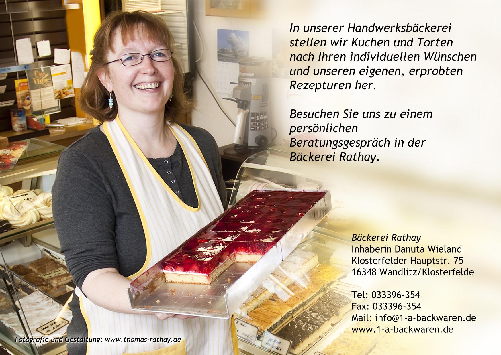 Bäckerei Rathay - Inhaberin Danuta Wieland