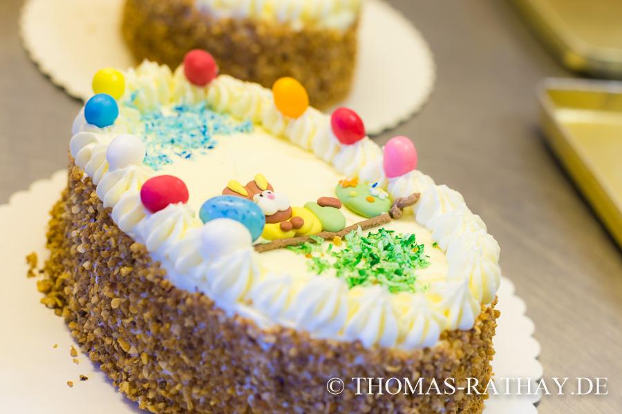 Österliche Torten der Bäckerei Rathay, Inh. Danuta Wieland