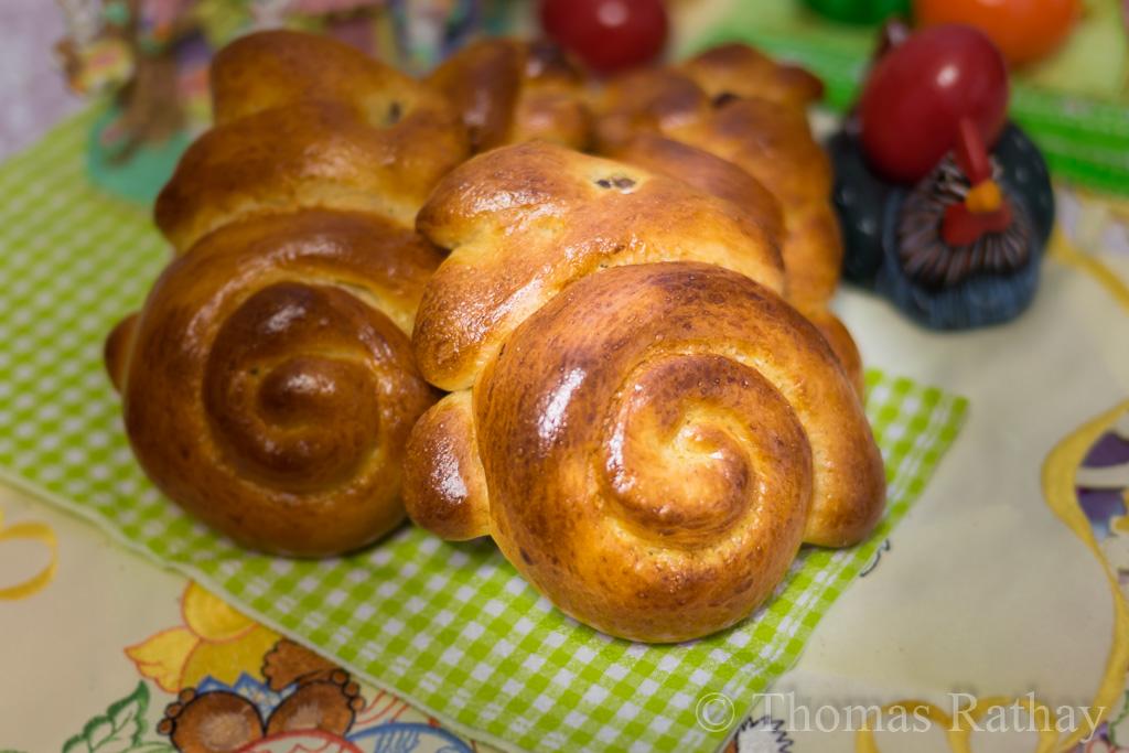 Österliche Backwaren der Bäckerei Rathay