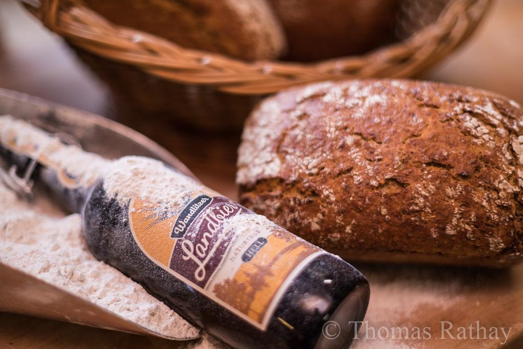 Treberbrot der Bäckerei Rathay trifft Wandlitzer Landbier der Brauerei Gottfried